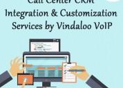 Call center crm integration & customization servic