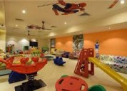 Choose the best indoor space for the playing needs