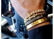 King crown bracelet for men