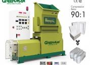Greenmax m-c200 eps recycling machine