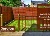 Fence service fairfax va