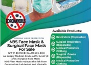 High quality n95 face mask and surgical face mask