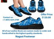 Custom sneakers athletic footwear