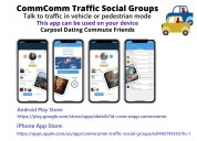 Commcomm traffic social groups communicating