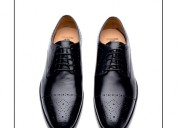 Handcrafted leather dress shoes for men