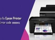 Hoe epson printer foutcode 000041 te repareren?