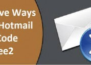 Effectieve manieren om hotmail-foutcode 80072ee2 o