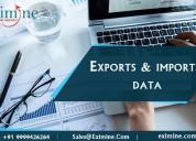 Export import data provider