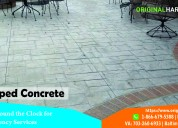 Stamp concrete service northern va