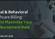 Experts in behavioral health billing services for