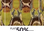 Super sale flat 50% off – gabbeh rugs on sale