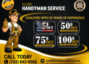 Skilled handyman service available