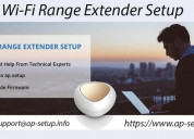 Wi-fi range extender setup