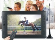 12v 9 inch hd portable mini digital and analog tv