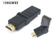 Hdmi connector male to hdmi female adapter