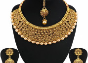 Buy necklace set online in usa