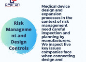 Risk management and design controls