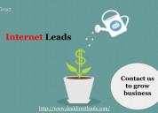 Choose online internet insurance leads
