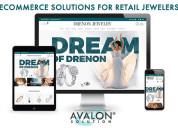 Jewelry websites designing company in new york