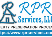 Rpr services, llc - property preservation work ord