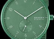 Skagen aaren colored silicone 41mm best men's watc
