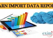 Yarn import data report
