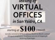 Renta de oficinas virtuales en san ysidro ca usa