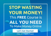 100% free affiliate marketing course – start makin