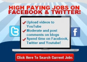 $25 per hour jobs on facebook, now hiring!