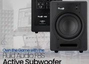 Fluid audio f8s active subwoofer