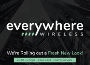 Everywhere wireless offers 2 gig internet service