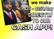 Instant cash app payments!!!