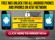 Free imei and sim unlock for iphone or android dev