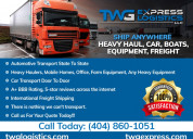 Got freight? need shipping? call us today for qual