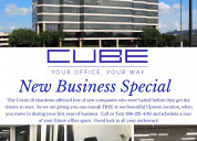 Commercial office space rental