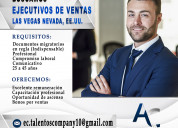 Ejecutivos de ventas (sales executives)
