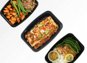 Online nationwide fresh and healthy prepared meal