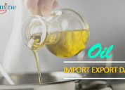 Oil import export data