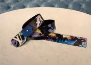 Louis vuitton mp242v lv shape 40mm reversible belt