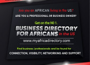Directory for african businesses and professionals