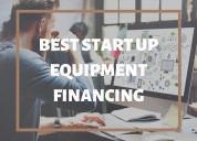 Getting start up equipment financing