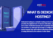 What is a dediacted hosting?