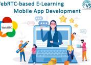 Top webrtc-based e-learning mobile app development
