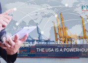 The usa is the powerful of export data
