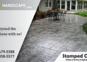 Stamped concrete service in bethesda md va