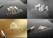 Need a logo we will design modern logo custom made