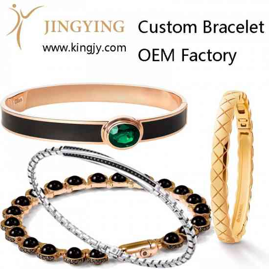 Custom ring gold plated silver jewelry supplier an