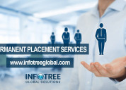 Reliable permanent staffing for global hiring need
