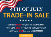 Furniture with trade-in sale this independence