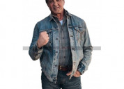 Rambo last blood sylvester stallone denim jacket